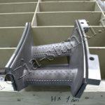 Прожиг охлаждающих отверстий в лопатках газовой турбины