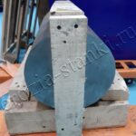 Вырезание хомута из кругляка длина 400 мм, диаметр 280 мм. 05/21 РБ.