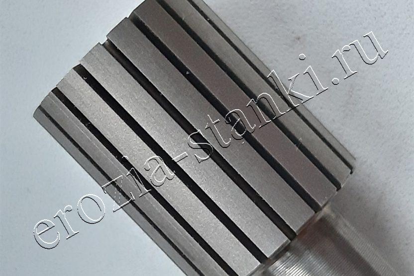 Вырезание пазов, фильера. Нержавеющая сталь. РБ
