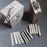 Образцы для испытаний мехсвойств соединения титана диффузионной и электронно-лучевой сваркой