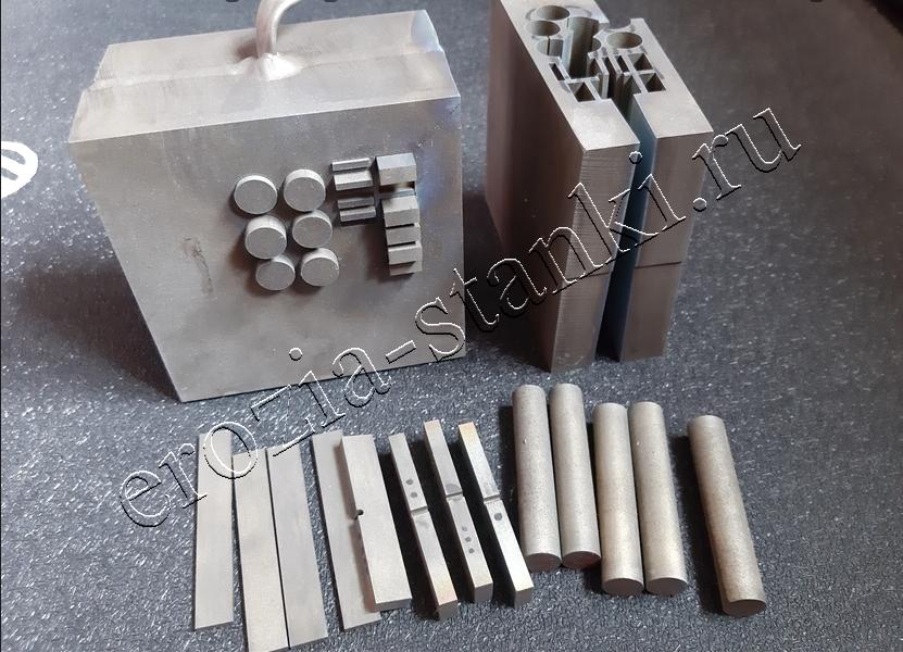 Вырезка образцов для испытаний механических свойств соединения титана диффузионной и электронно-лучевой сваркой