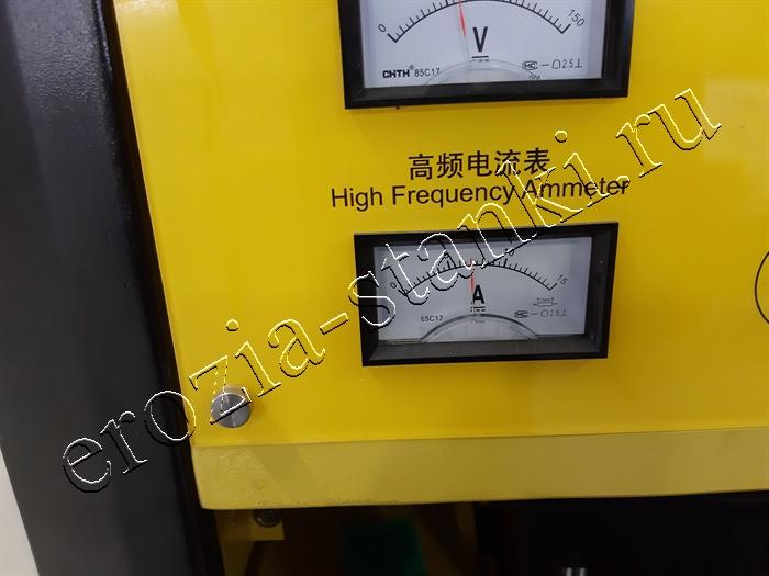 Ток 7 Ампер, проверка макс скорости резания эрозионного станка DK 7740
