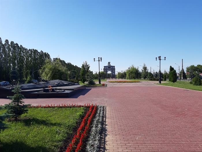 Курск. Аллея Победы