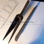Лопатки перспективного авиадвигателя. Титан