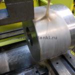 Нержавейка ф216 мм. Газпром нефтехим Салават. Видео